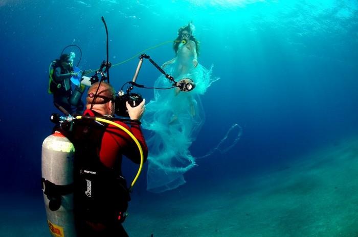 Фото под водой в море как сделать