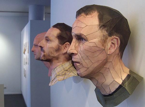 Как сделать лицо из бумаги фото 753