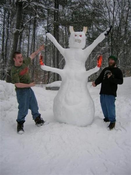 Маленький смешной снеговик - YouTube :: Самый смешной снеговик ...