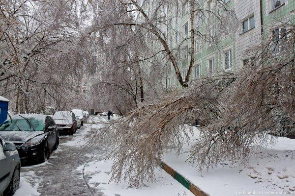 Ледяной дождь снова ударит по российской столице