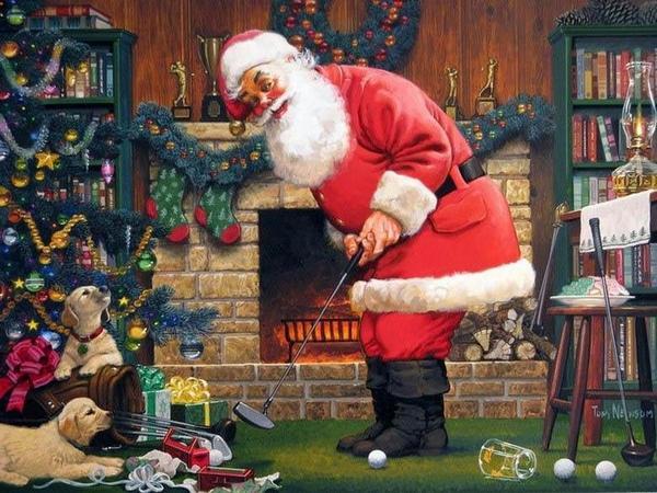 Новогодние картинки - Санта Клаус