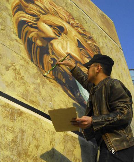 Самая большая картина - Ворота Львов