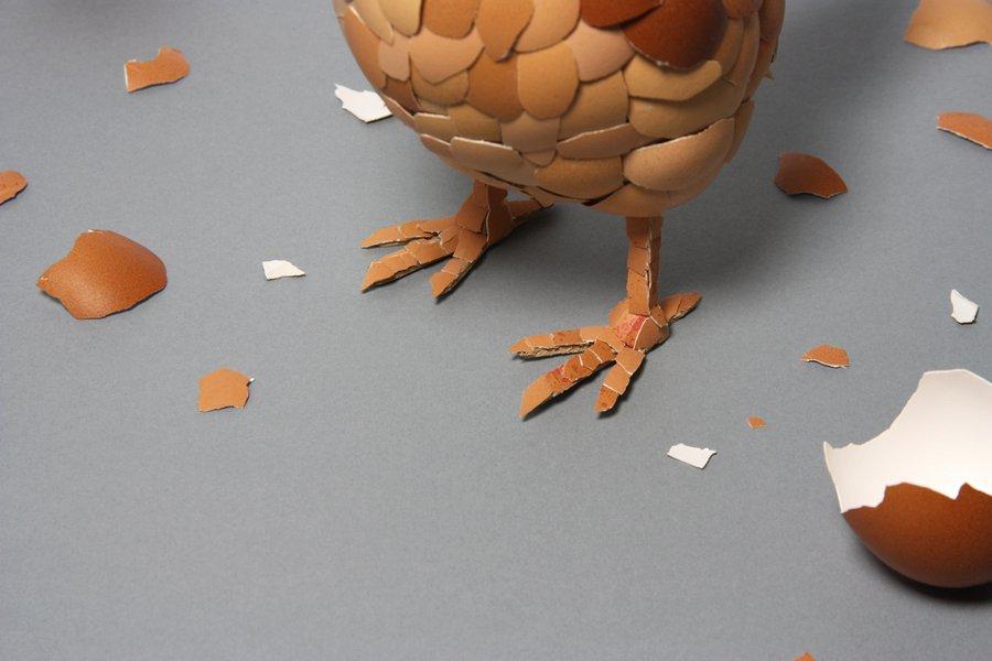 Курица своими руками поделка фото