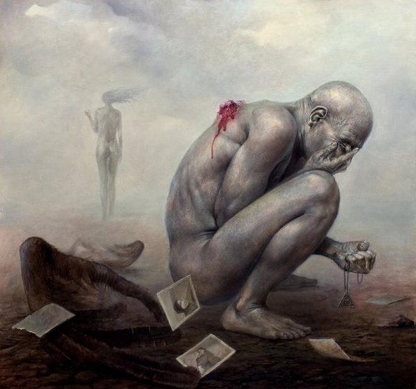 Мрачные картины Dariusz Zawadzki