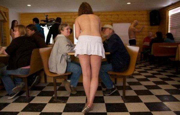 Голые официанты фото фото 176-990