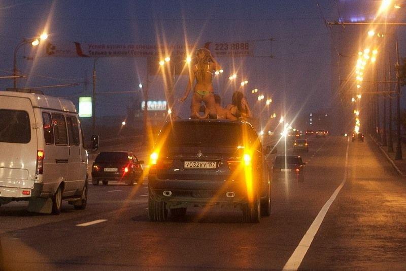 девушки на дороге москвы