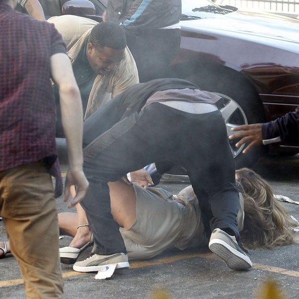 Дженнифер Лопес уронили...