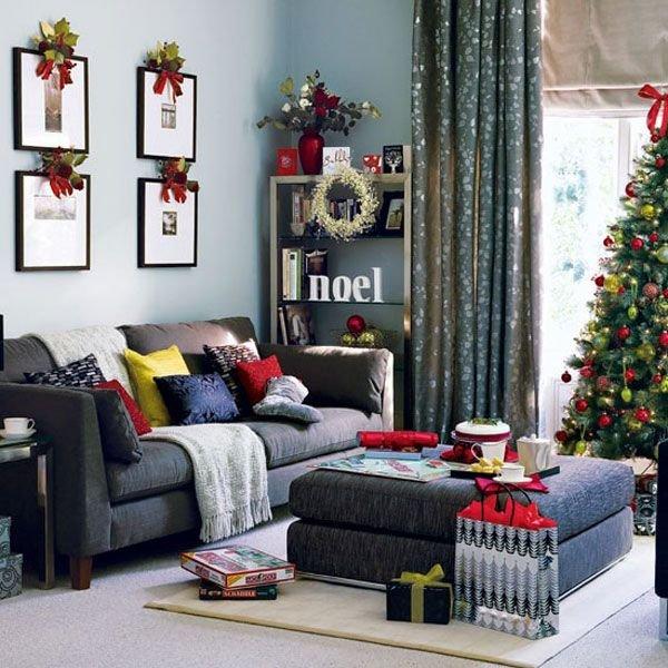 Как украсить к новому году комнату своими