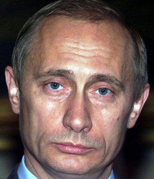 фото путина лицо