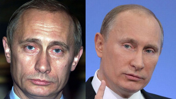 Новое лицо Путина
