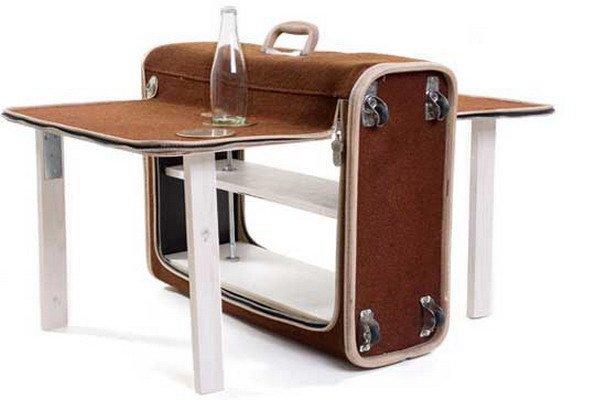 Стол чемодан сделать