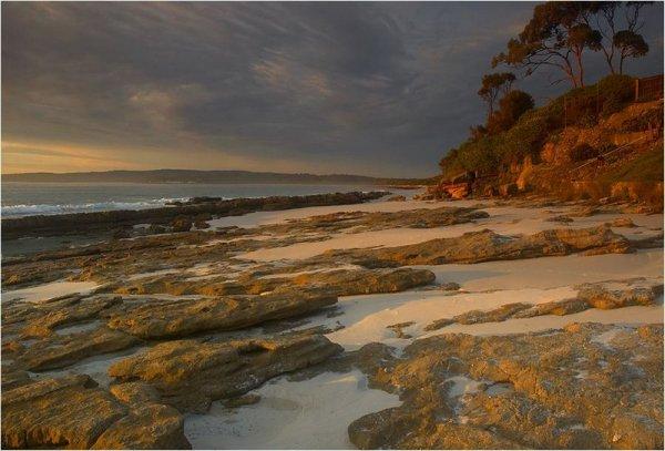 Австралийский дикий пляж