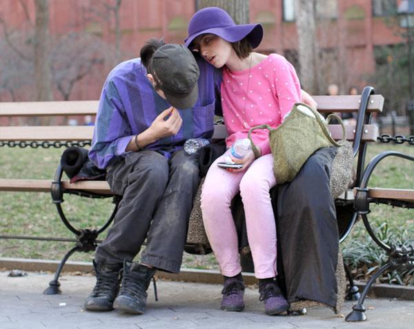 фото нью-йорка люди