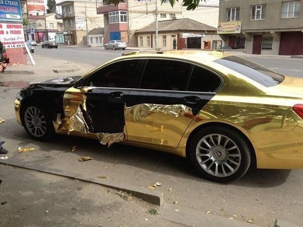 Золотая машина фото 10