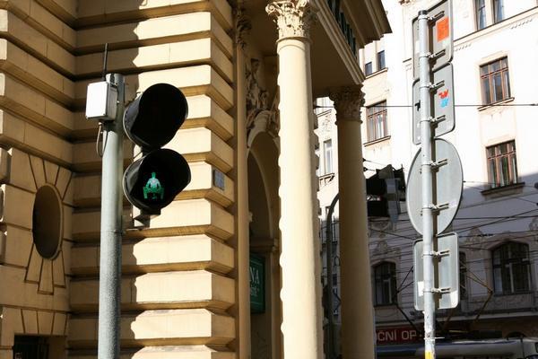Прикольный светофор