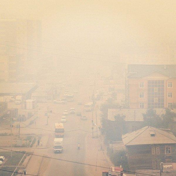 Туман над городом