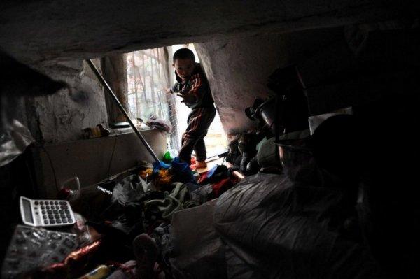 Жизнь в подвале