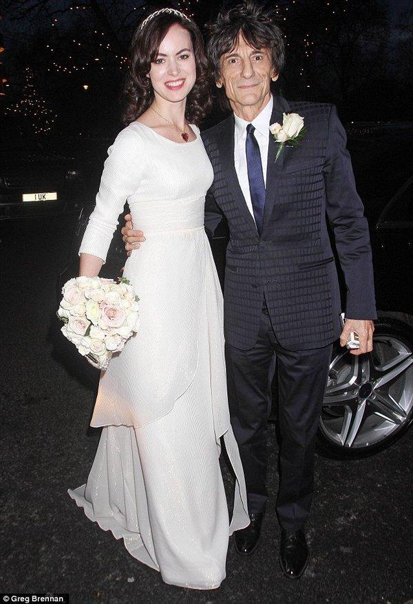 Рон Вуд женился