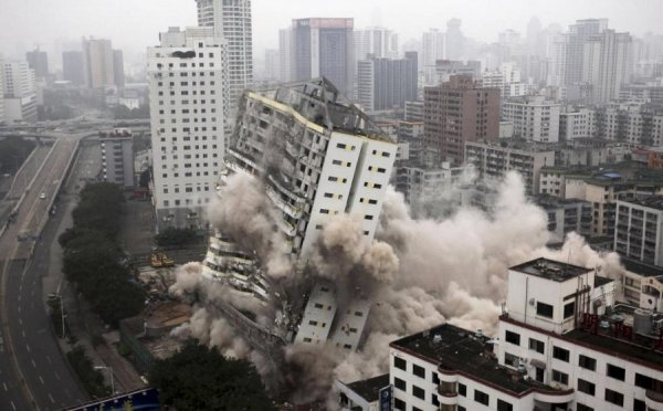 Взрыв дома