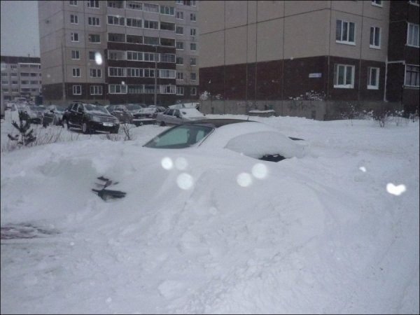 Выпал снег