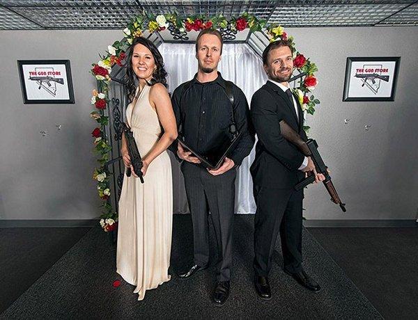 Свадьба с оружием
