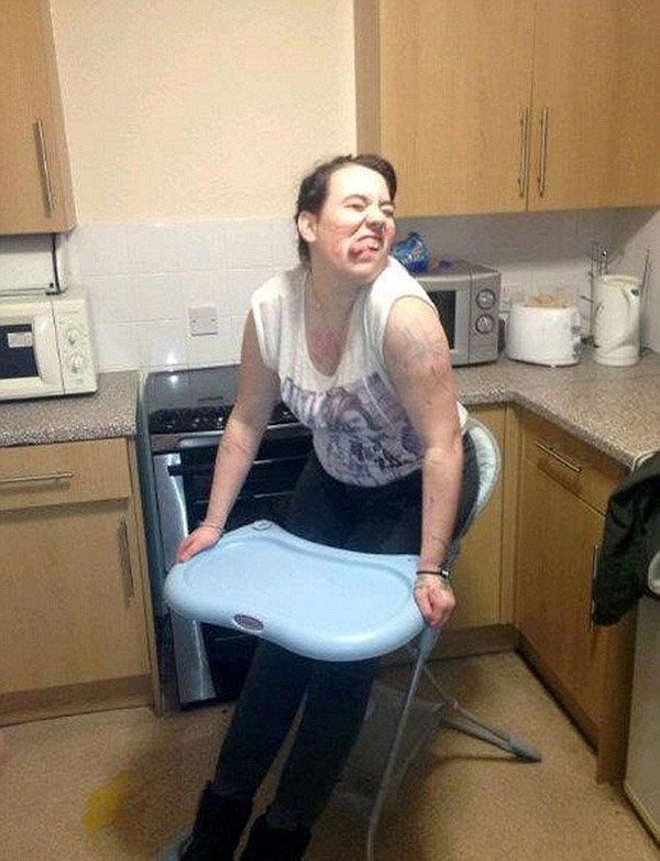 фото пьяная тетка