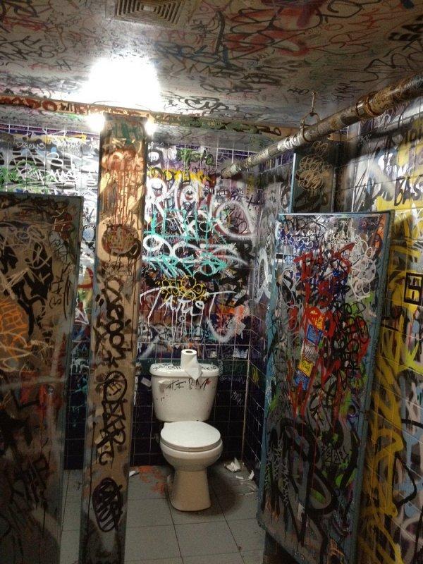 Американские туалеты