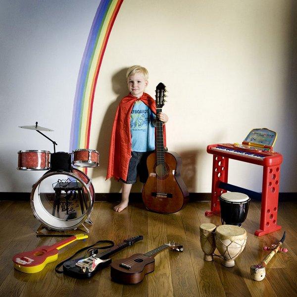 Niños y juguetes