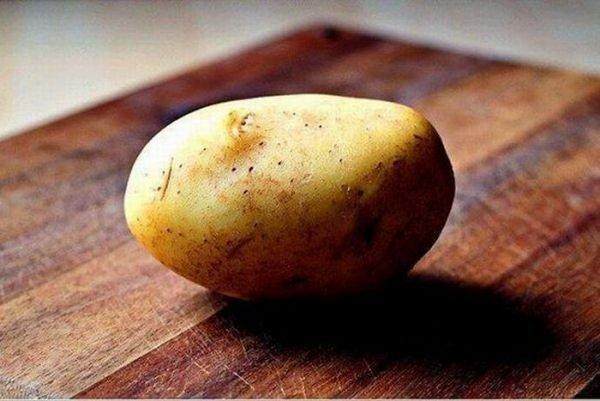 Блюдо из одной картофелины