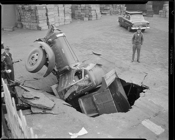 Аварии 40-х годов