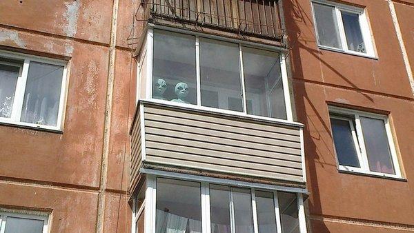 Инопланетяне в Красноярске
