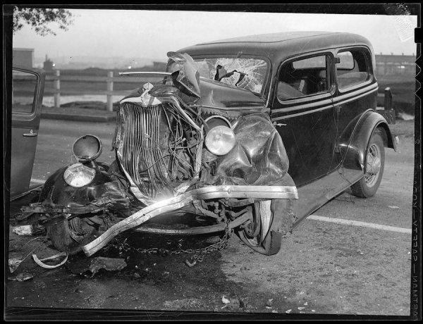 Аварии прошлого