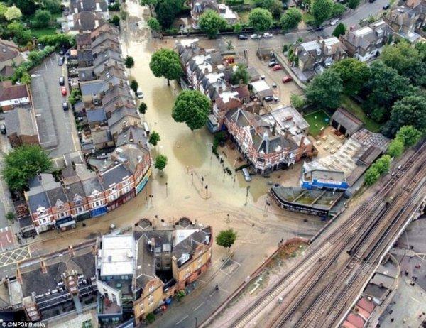 Потоп в Лондоне