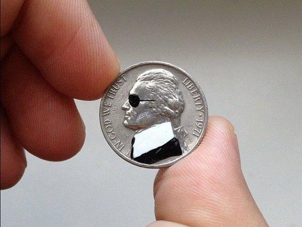 Разрисованные монеты