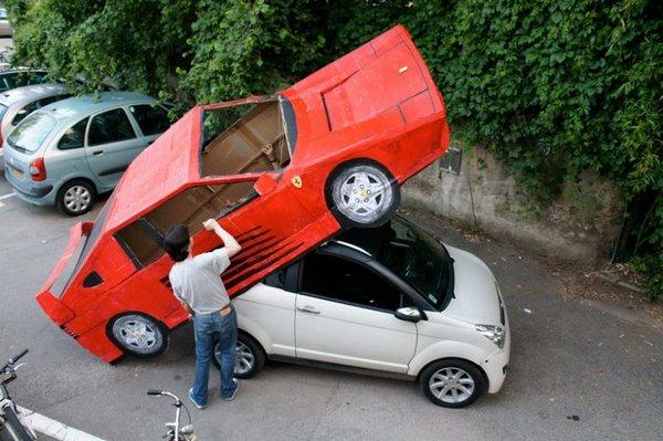 Как сделать не обычную машину