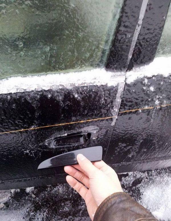 Мелкие зимние автопакости