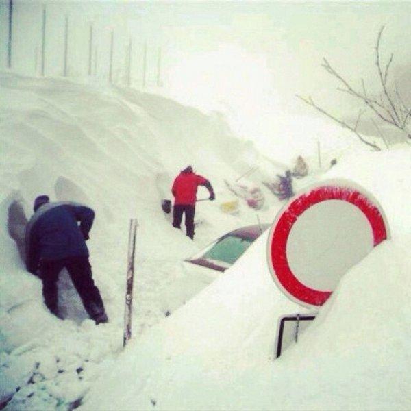 Снег в Ростове-на-Дону