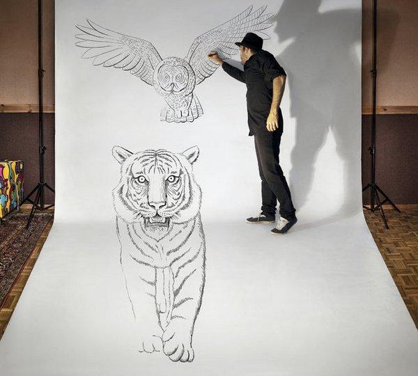 Реалистичные иллюзии Ben Heine