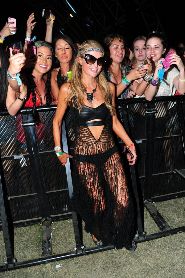Paris Hilton - Coachella