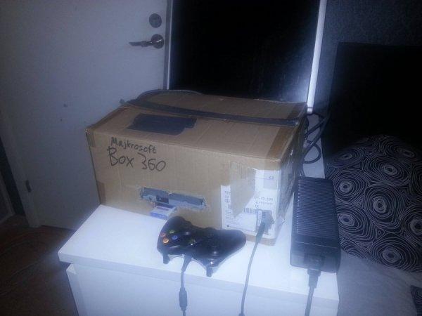 Самодельный Xbox 360
