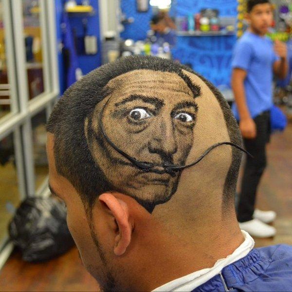 Искуство на волосах