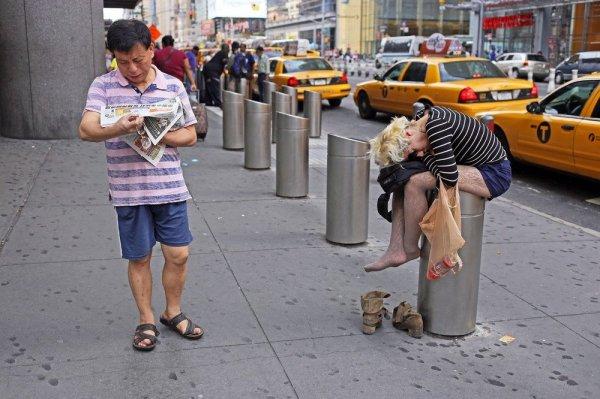 Люди из Нью-Йорка