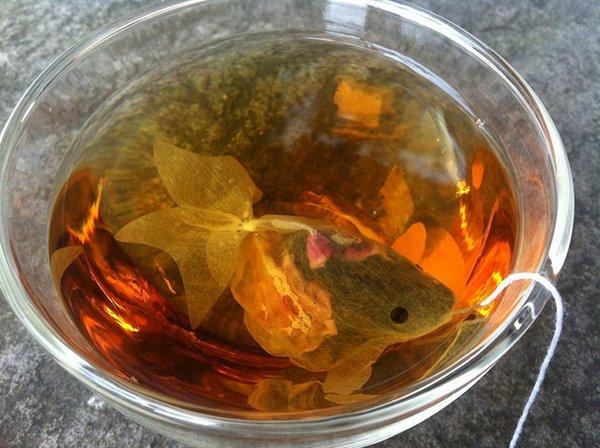 Чай с рыбками