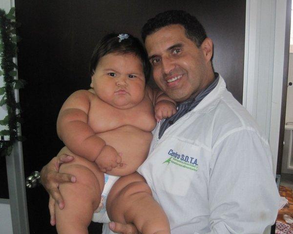 10-месячная толстушка