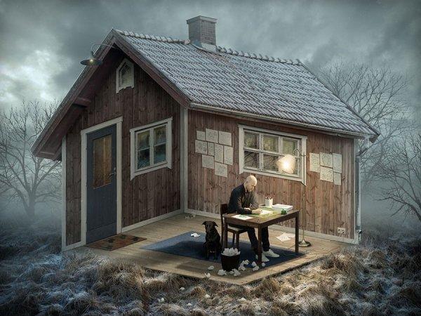 Иллюзии от Erik Johansson