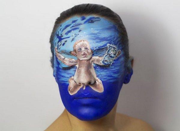 Обложка диска на лице