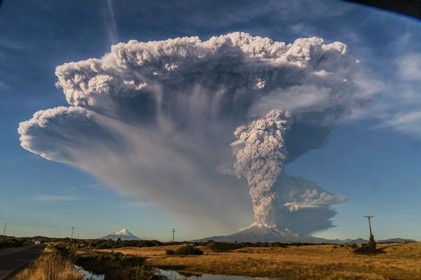 Извержение вулкана Calbuco