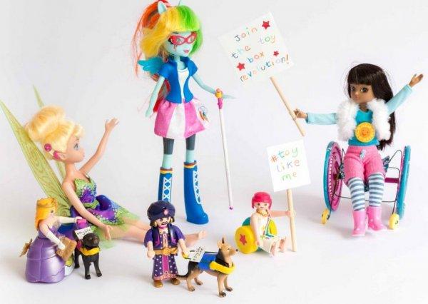 Куклы-инвалиды
