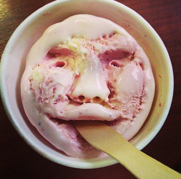 Лицо мороженого