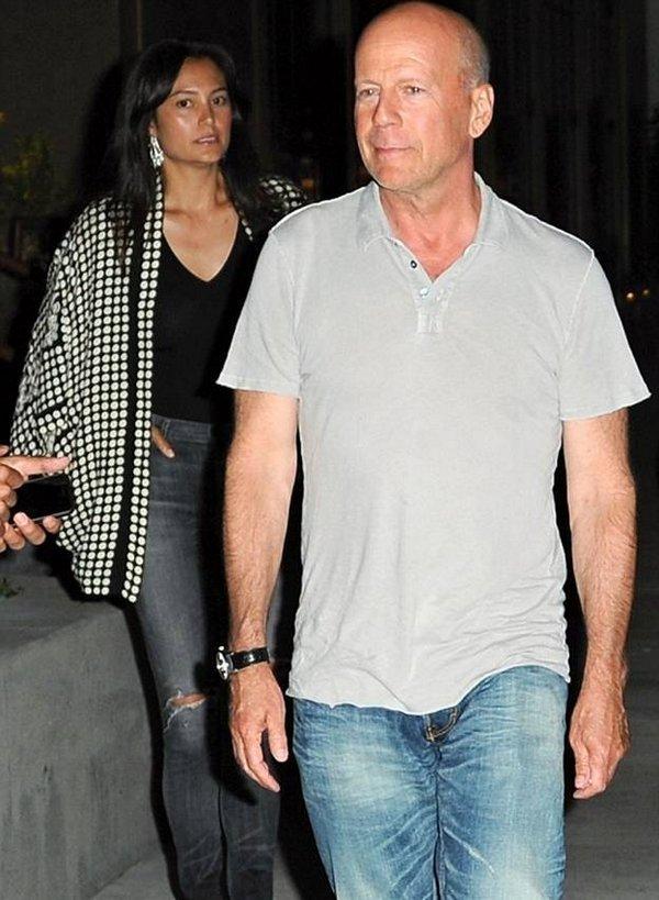 Брюс Уиллис с молодой женой